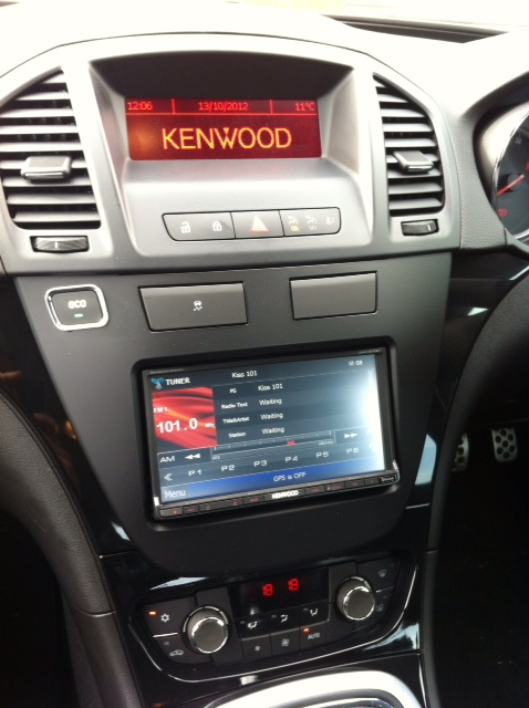 Vauxhall insignia with kenwood dvd radio towbars 247 vauxhall insignia with kenwood dvd radio cheapraybanclubmaster